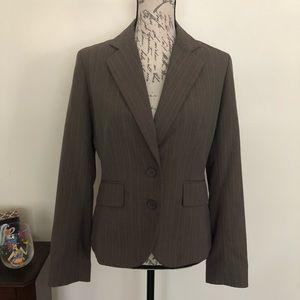 New York & Company pinstripe blazer suit jacket